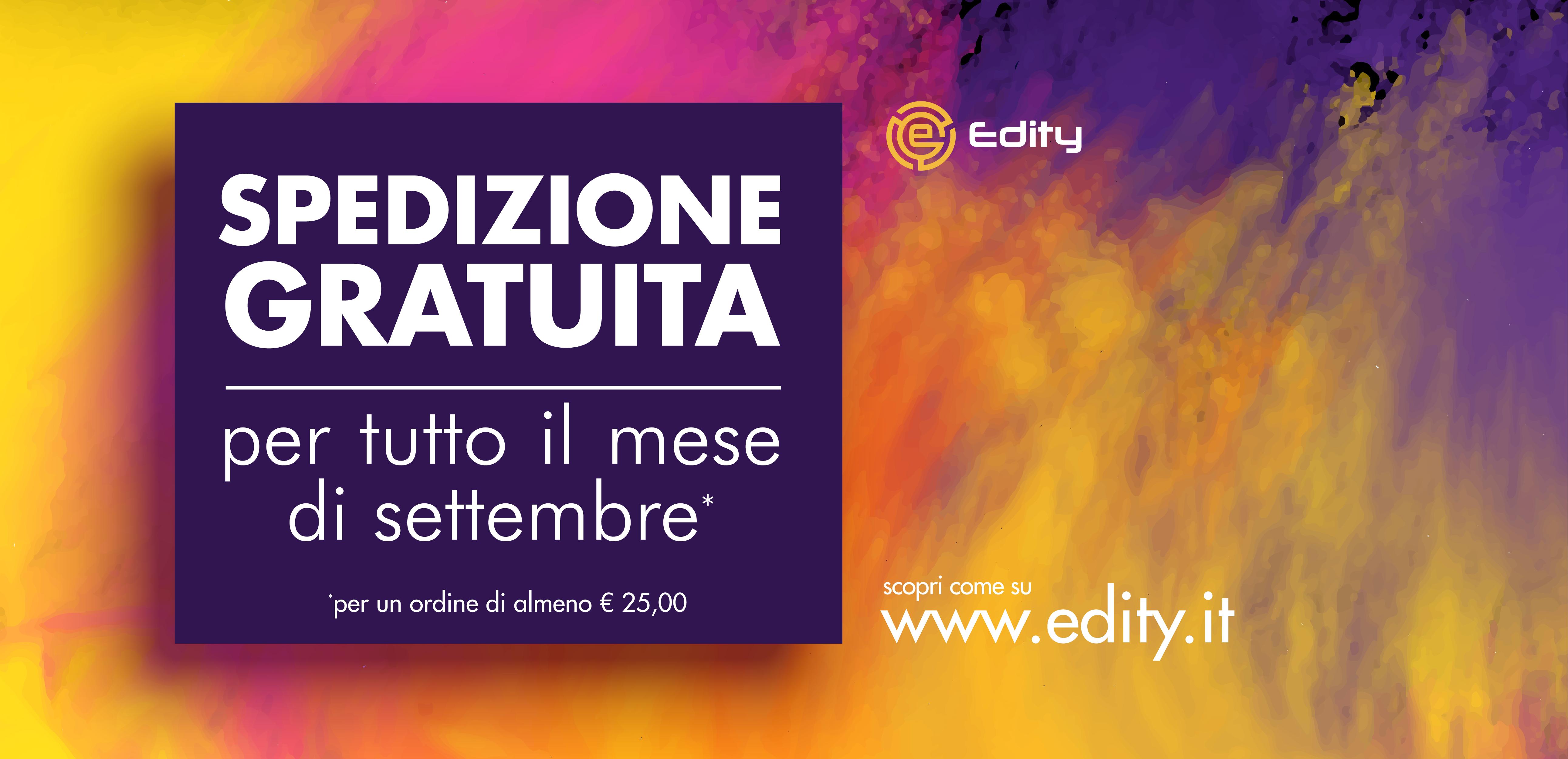 4e5d6734149e3f Nuova Promozione - A Settembre la spedizione dei tuoi libri è gratuita! -  Edity.it